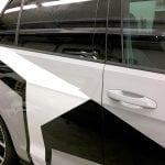 Autofolierung Streifen Muster Design
